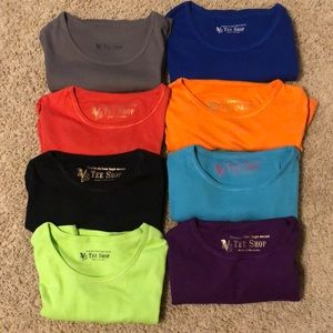 Victorias Secret Tee Shop T Shirt Lot of 8